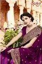 Saroj Morni Vichitra Silk Dyed With Heavy Border Saree Catalog