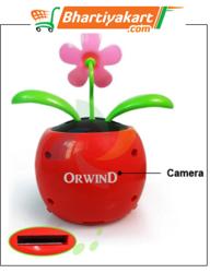 Spy Camera Flower Pot