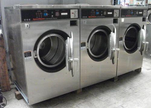 Sm Black And Silver Electronic Washing Machine Id