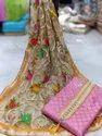 Chanderi Fabric Dress Material