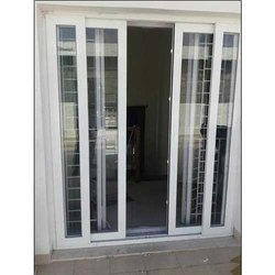 Toughened Glass UPVC Doors