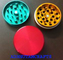 Rasta CNC Aluminum Herb Grinders, 40 To 63mm Available