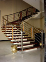 Stainless Steel Wooden Railing