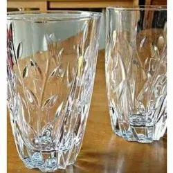 Round Transparent Water Glass