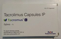 Zydus Tacromus 1mg Capsules, Packaging Size: 6*10