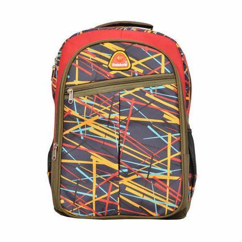 Rainbow Polyester And Nylon Printed School Bag c9abb022a1e0b