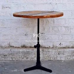 Pub & Bar Furniture - Height Adjustable Bar Table - Pub Tables, Bar Tables
