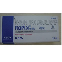 Ropivacaine Hydrochloride Injection USP