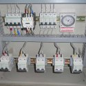 Automatic Street Light Controller Panel