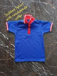 Blue T-Shirt School Uniform