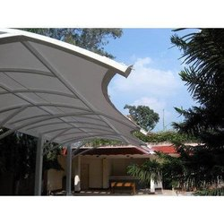 Funnel Shaped Entrance Canopy