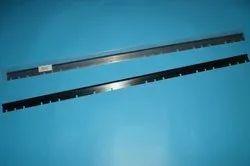Sm74 Wash Up Blade,Sm74 Machine Rubber Washup Blade,Good Quality,9 Slots,