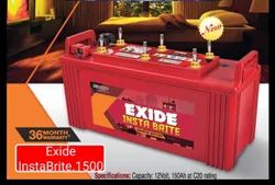 InstaBrite 1500 EXIDE INVERTER Battery
