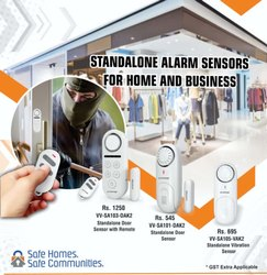 Standalone Alarm Sensors For Home