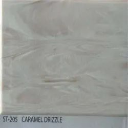 Caramel Drizzle Acrylic Solid Surface