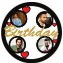 Birthday Sublimation Wooden Wall Frame