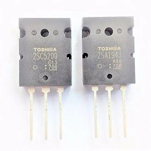 2sc5200 2sa1943 Toshiba Power Transistors, Pack Of 1pair