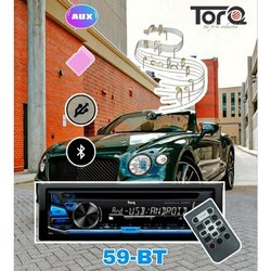 Torq Car Fm Usb Player, Model Name/Number: 59-BT