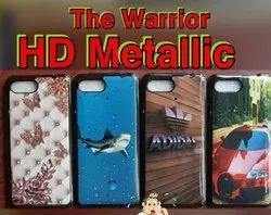 HD Metallic Warrior Printed Mobile Cover