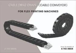 Cable Drag Chain (Cable Conveyor) - Flex Printing Machines