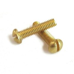 Brass Slotted Bolt