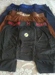 Lycra Cotton Dark colors 5 shades Long Trunk, Handwash, Size: 85-90 cm