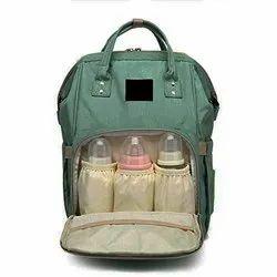 Merayo Green Diaper Bag, Newly Born to 4 years
