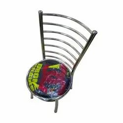 Steel Chair, For Cafe