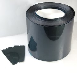 PET Film Black Matte Finish Mobile Screen Protector 9h Anti Shock Roll, Packaging Type: Box, Thickness: 0.44MM