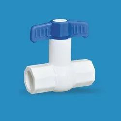 UPVC Plain Concealed Solid Ball Valve