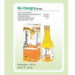 Be Hungry Syrup, Packaging Size: 200 Ml