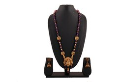 Agates Beads Combined Mingled Laxmi Pendant