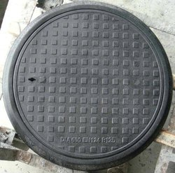 Black Iron/Ductile Iron Manhole Cover