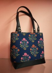 College Printed Tote Bag