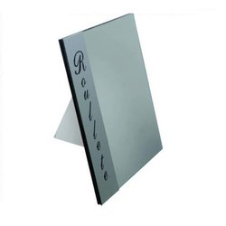 Optical Acrylic Table Top Mirror Stand