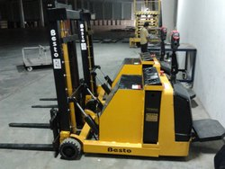 Battery Operated Counter Balance Stacker