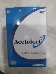 Acetofort Tablet, Packaging Type: Strips