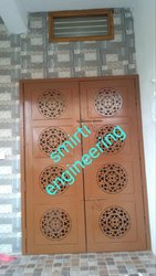 Powder Coated Steel Door