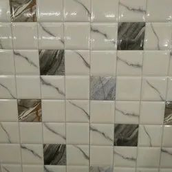 Glossy Rectangular Printed Ceramic Bathroom Tiles, Size: 12 x 18 inches, Thickness: 0-5 mm
