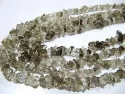 Natural Smoky Quartz Uncut Chip Beads 6 to 10 mm Strand 34inches Long