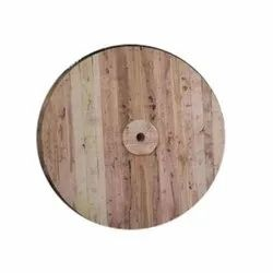 Brown Wooden Drum Wheel, For Electrical Industry