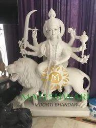 Marble Ambika Devi Murti