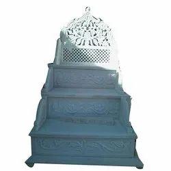 White Masjid Mimber