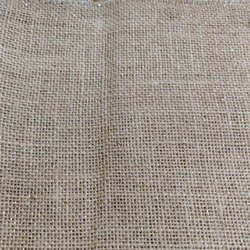 Brown Plain Jute Fabric
