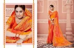 Kessi Present Bandhej Vol 10 Fancy Saree