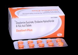 Doxylamine Succinate, Pyridoxine Hydrochloride & Folic Acid Tablets