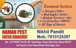 Yearly Pest control service