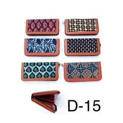 Ladies Ajrakh Print D15 Handicrafts Bags