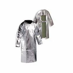 Aluminised apron