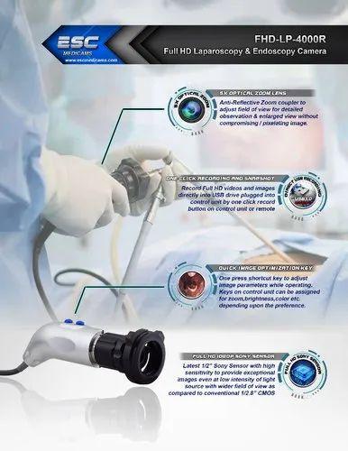 Endoscopy Unit: Stainless Steel Surgical Laparoscopic Camera Full Hd 1080p